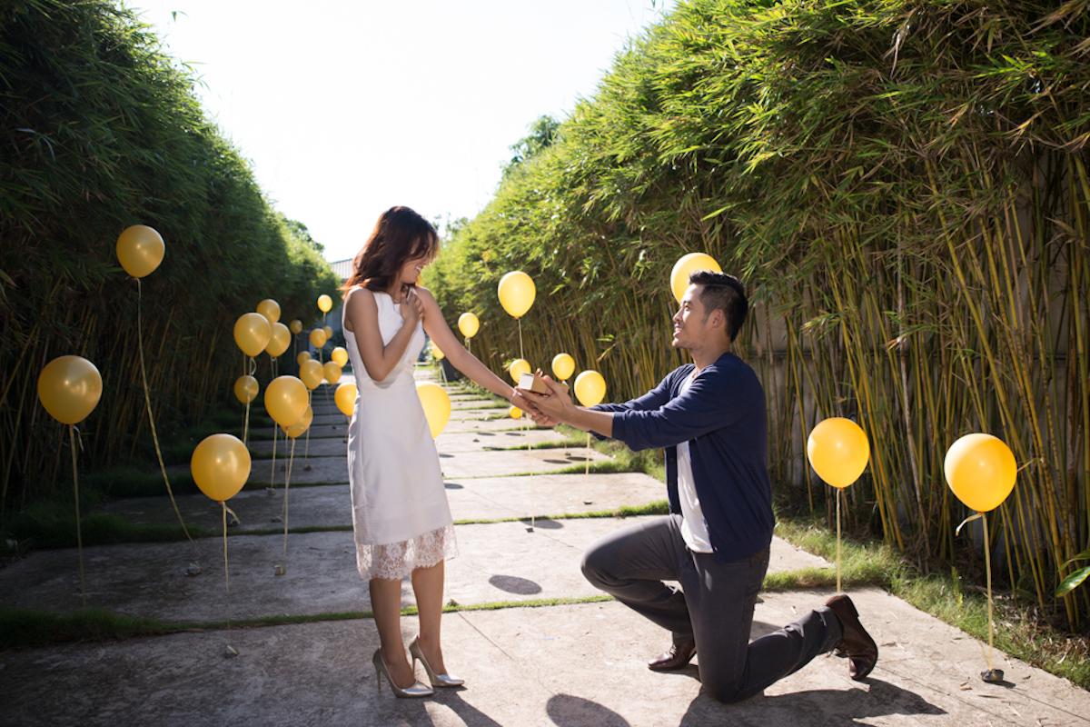 Nghi ngõ ý muốn làm đám cưới sau thời gian dài bên nhau